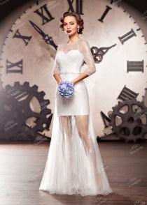 Короткие свадебные платья в СПб: 2086 фото мини платьев 2015