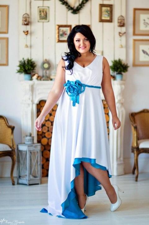 Платье для свадьбы для полных